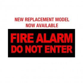 Internal Warning Sign - 'FIRE ALARM DO NOT ENTER'