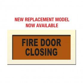 """Face Plate """"FIRE DOOR CLOSING"""""""