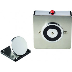 SLIMLINE Elegant 50kg 24VDC Magnetic Door Holder