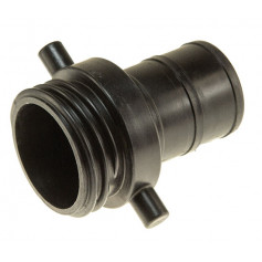 65mm CFA Plastic Coupling Male - 65mm Tail
