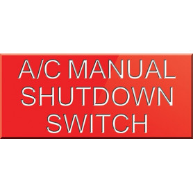 A/C Manual Shutdown Switch