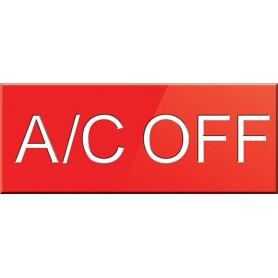A/C OFF