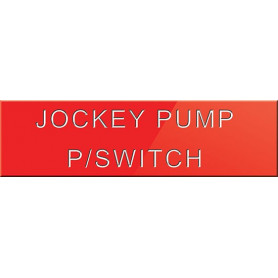 Jockey Pump Power Switch