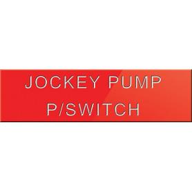 Jockey Pump Power Switch