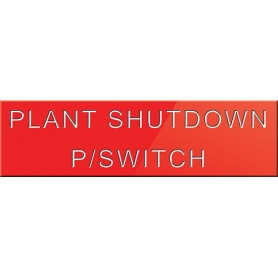Plant Shutdown P/Switch
