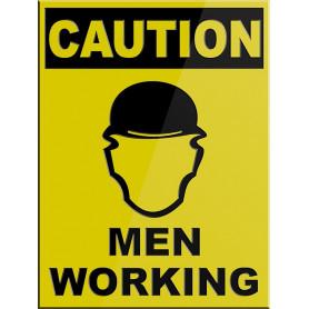 CAUTION Men Working