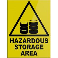 Hazardous Storage Area