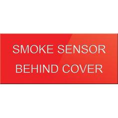 Smoke Sensor Behind Cover