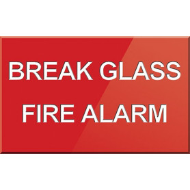 Break Glass Fire Alarm