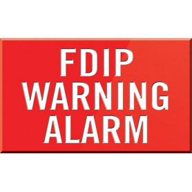FDIP Warning Alarm