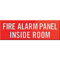 Fire Alarm Panel Inside Room