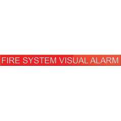 Fire System Visual Alarm