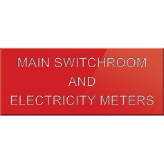 Main Switchroom & Electricity Meters