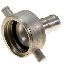 65mm QLD Alloy Coupling Female - 38mm Tail