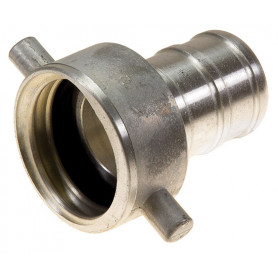 65mm QLD Alloy Coupling Female - 65mm Tail