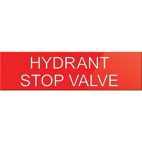 Hydrant Stop Valve