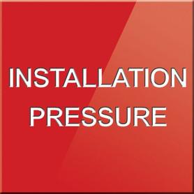 Installation Pressure