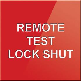 Remote Test Lock Shut