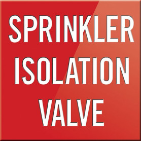 Sprinkler Isolation Valve