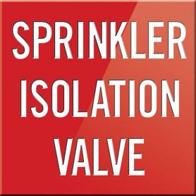 Sprinkler Isolation Valve