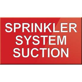 Sprinkler System Suction