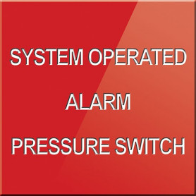 System Operated Alarm Pressure Switch