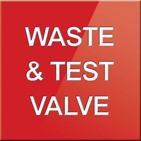 Waste & Test Valve