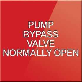 Pump Bypass Valve Normally Open