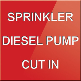 Sprinkler Diesel Pump Cut In