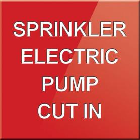 Sprinkler Electric Pump Cut In