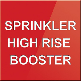 Sprinkler High Rise Booster