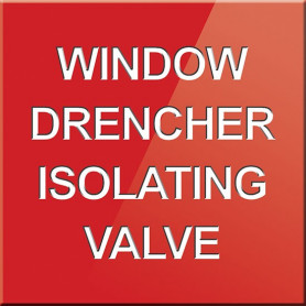 Window Drencher Isolating Valve