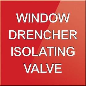 Window Drencher Isolating Valve