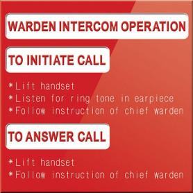 Warden Intercom Operation