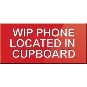 WIP Phone Located In Cupboard