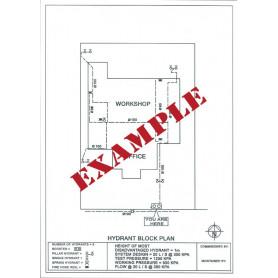 Traffolyte Sign - Block Plan - Custom
