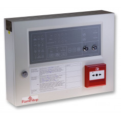 4 Zone FlameStop Conventional Panel with Resettable MCP