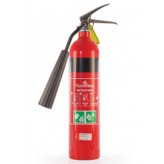 FlameStop 2.0kg CO2 Type Portable Fire Extinguisher