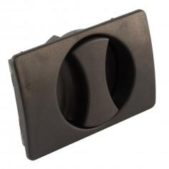 Non-locking Flush Handle
