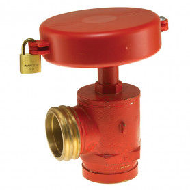 Hydrant Locking Wheel - Plastic - Kit