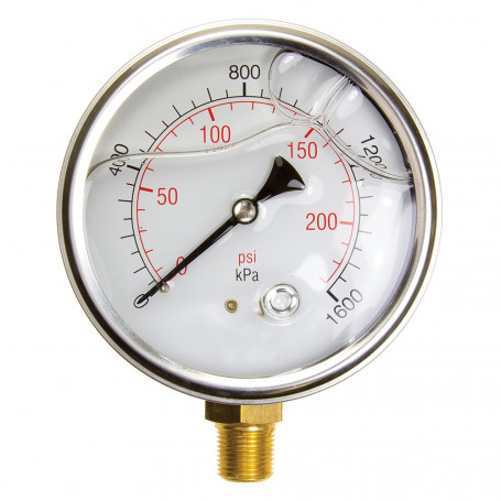 Hydrant Pressure Gauge - Wet - Large (100mm)