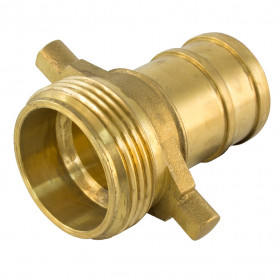 65mm NSW Brass Coupling Female Brass - 38mm Tail
