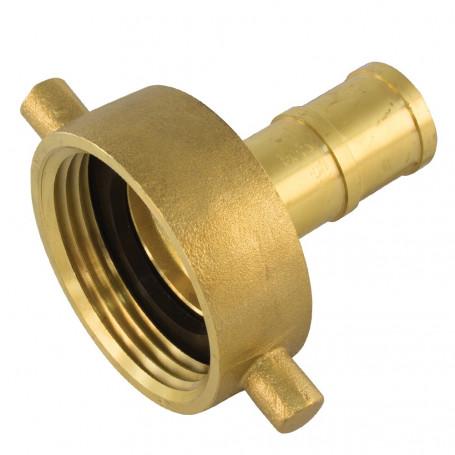 65mm NSW Brass Coupling Male Brass - 65mm Tail