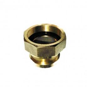 BIC Brass Adapter 65mm Male > 65mm BSP Female