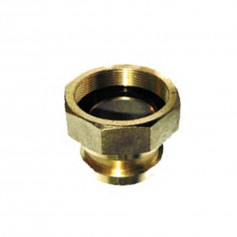 BIC Brass Adapter 65mm Male > 65mm BSP Female