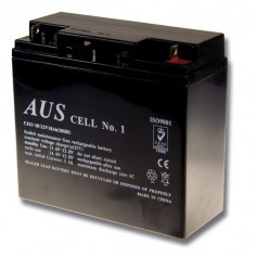 18AH 12VDC Lead Acid Battery