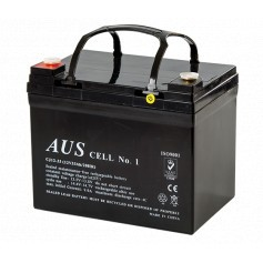 33AH 12VDC Lead Acid Battery