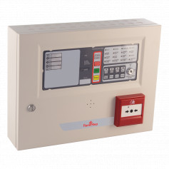 FlameStop 4 Zone Small Conventional Panel with Resettable MCP