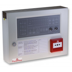 8 Zone FlameStop Conventional Panel with Resettable MCP