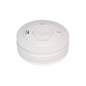 240V Photoelectric Smoke Alarm with 10 Year Lithium Backup Battery